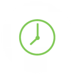 Save Time Icon which is a clock